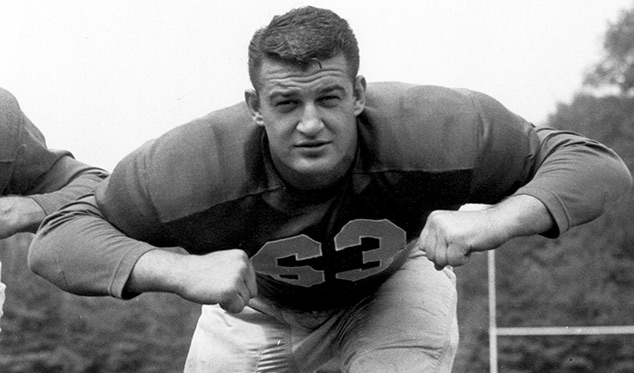 Redskins Guard Dick Stanfel Named Finalist For Pro Football HOF