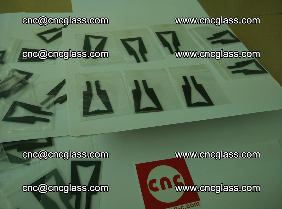 Blades for Thermal cutter trimming laminated glass edges overflowed remains (TPU) (17)