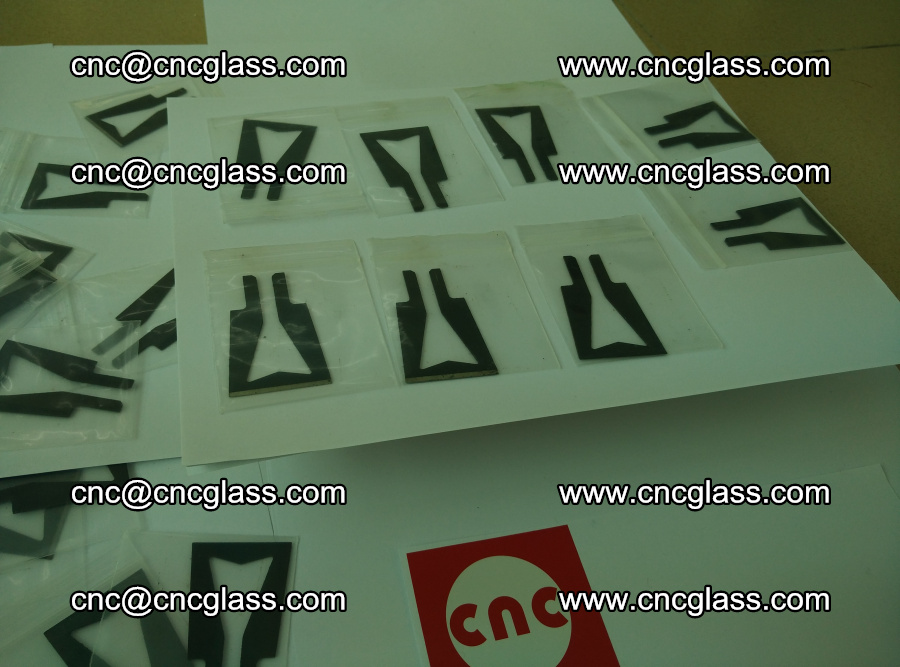 Blades for Thermal cutter trimming laminated glass edges overflowed remains (TPU) (18)