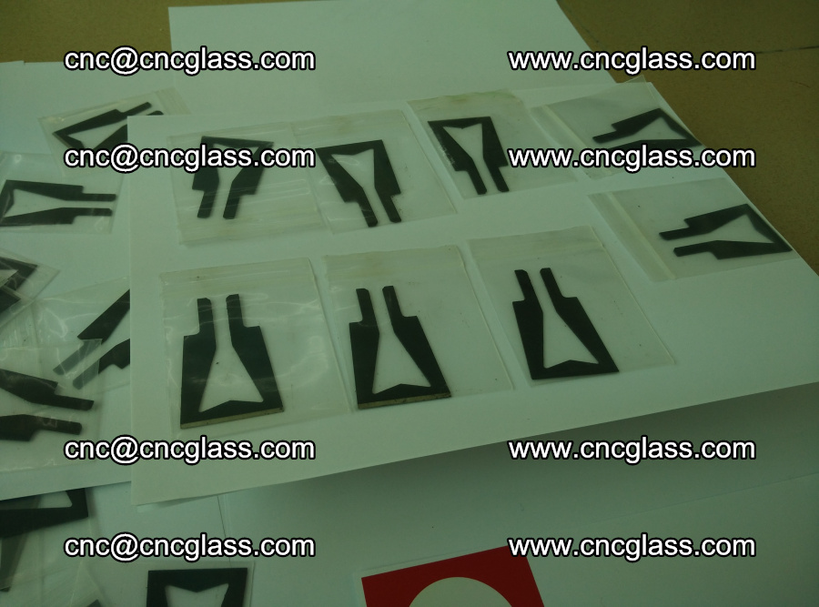 Blades for Thermal cutter trimming laminated glass edges overflowed remains (TPU) (19)