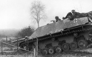 Jagdpanzer During The Battle Of The Bulge
