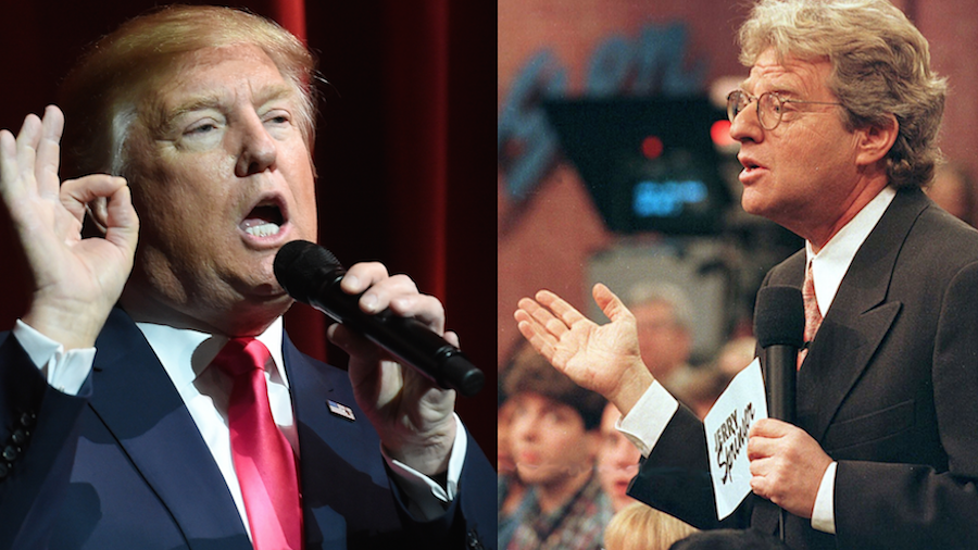 jerry-springer-show-donald-trump-getty