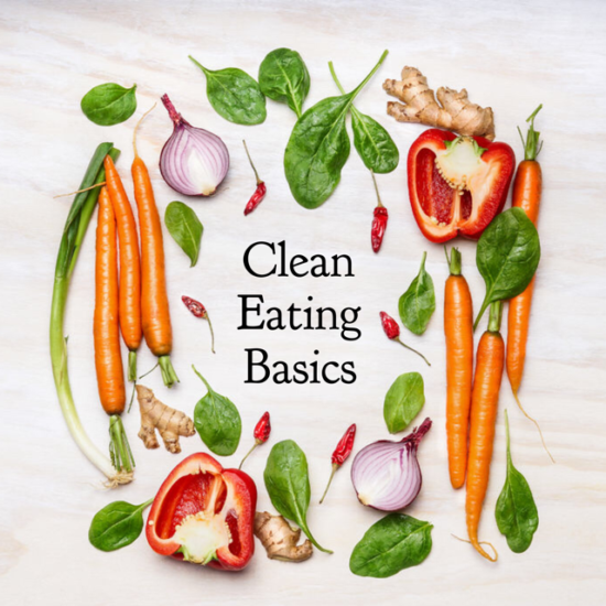 Clean eating is really quite simple. It is avoiding processed foods and eating a diet of healthy whole foods!