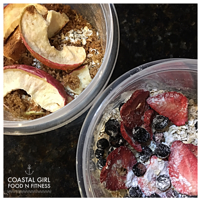 Oatmeal Bowls: Quick and easy prep! Healthy too!