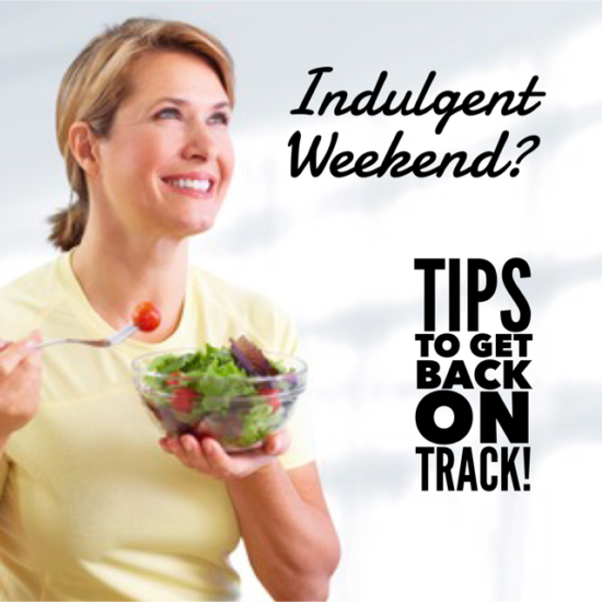Indulged a bit too much? No worries! Here are tips to get back on track!