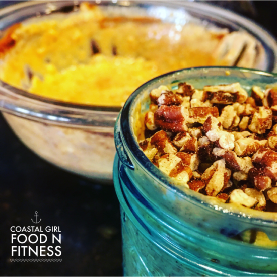 Pumpkin Pie Overnight Oats: It really does taste like pumpkin pie! It is clean, health and easy to make!