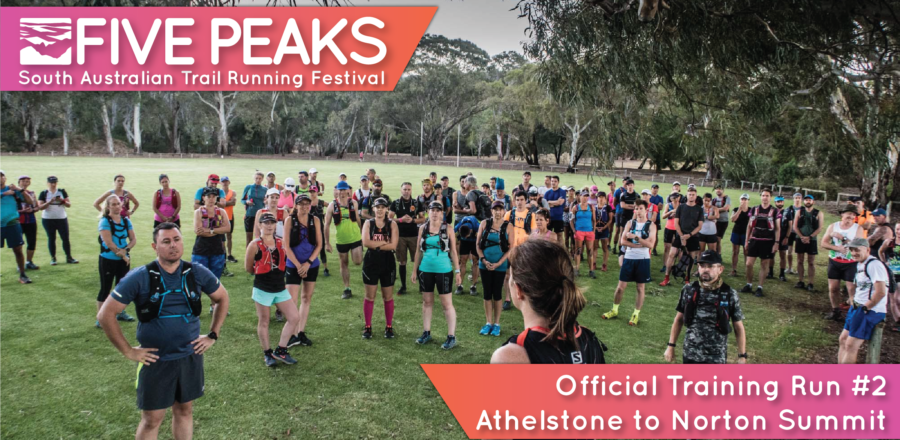 Five Peaks Official Training Run #2 – Athelstone to Norton Summit (20 km or 9 km)