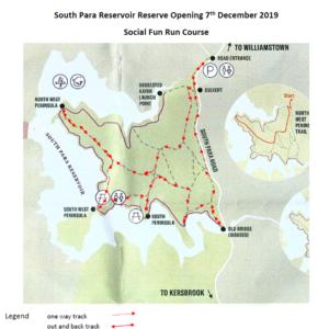 south para trail map