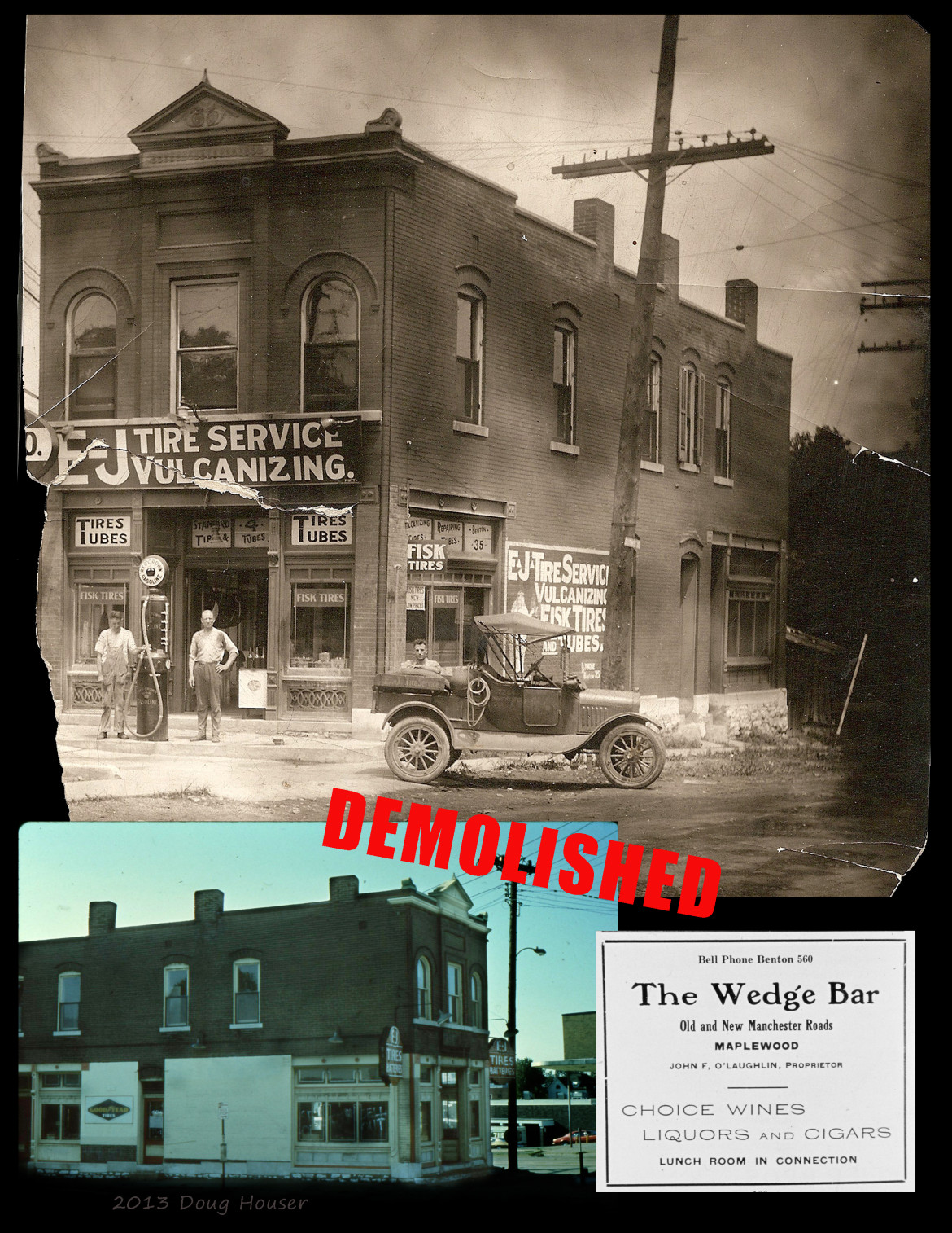 The Wedge, located at Manchester and Southwest, was another wonderful building that was demolished unnecessarily.