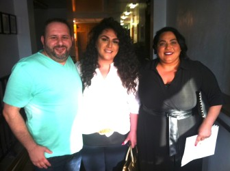 Eli Hleiss, Annie Bathani and Jinane Bathani presented House of Nour to Brentwood Planning and Zoning.