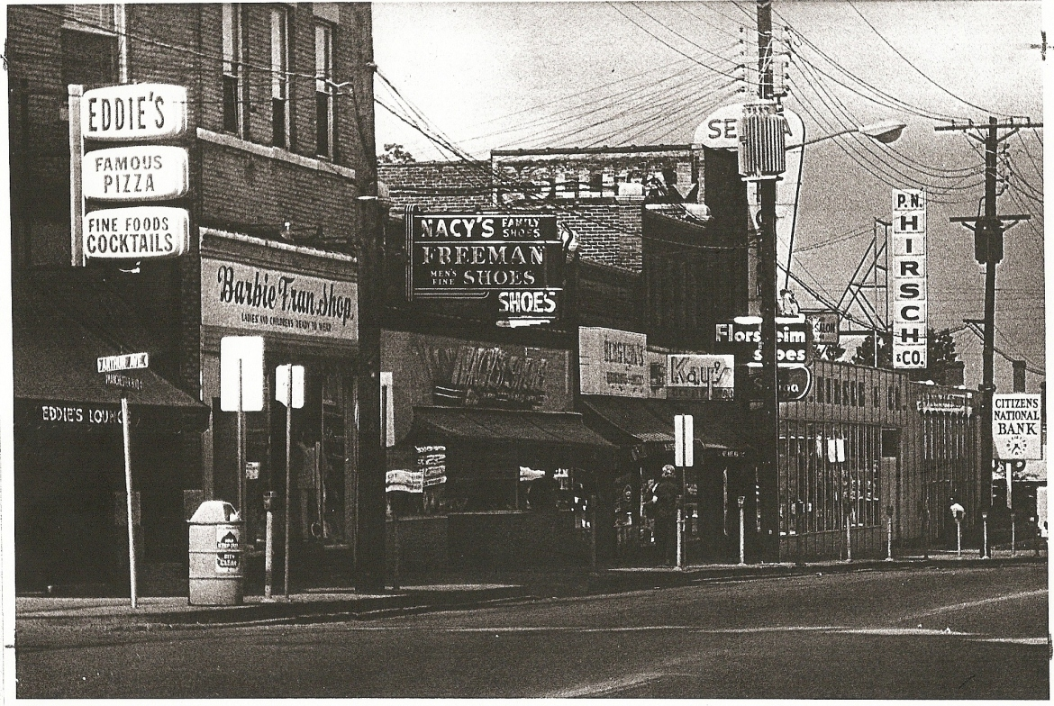 This undated photo shows a P.N.Hirsch store in the same location.  Courtesy of the Maplewood Public Library