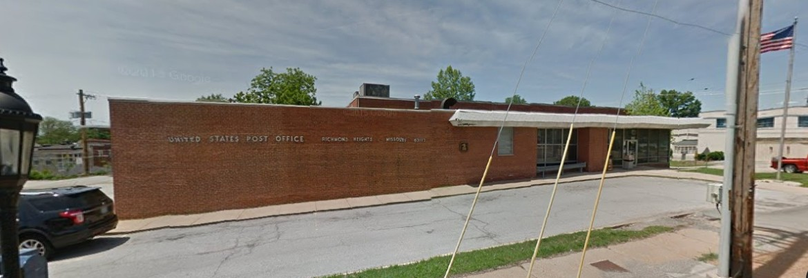 Richmond Heights Post Office, via Google Maps