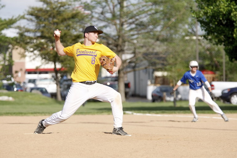 Skyler Sappington was the winning pitcher when Brentwood met MRH in April.