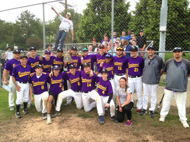 Brentwood Eagles, after defeating MRH in the district final.