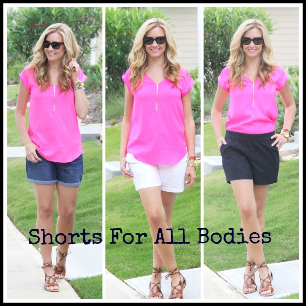 best shorts for all body types