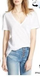 madewell basic t shirt