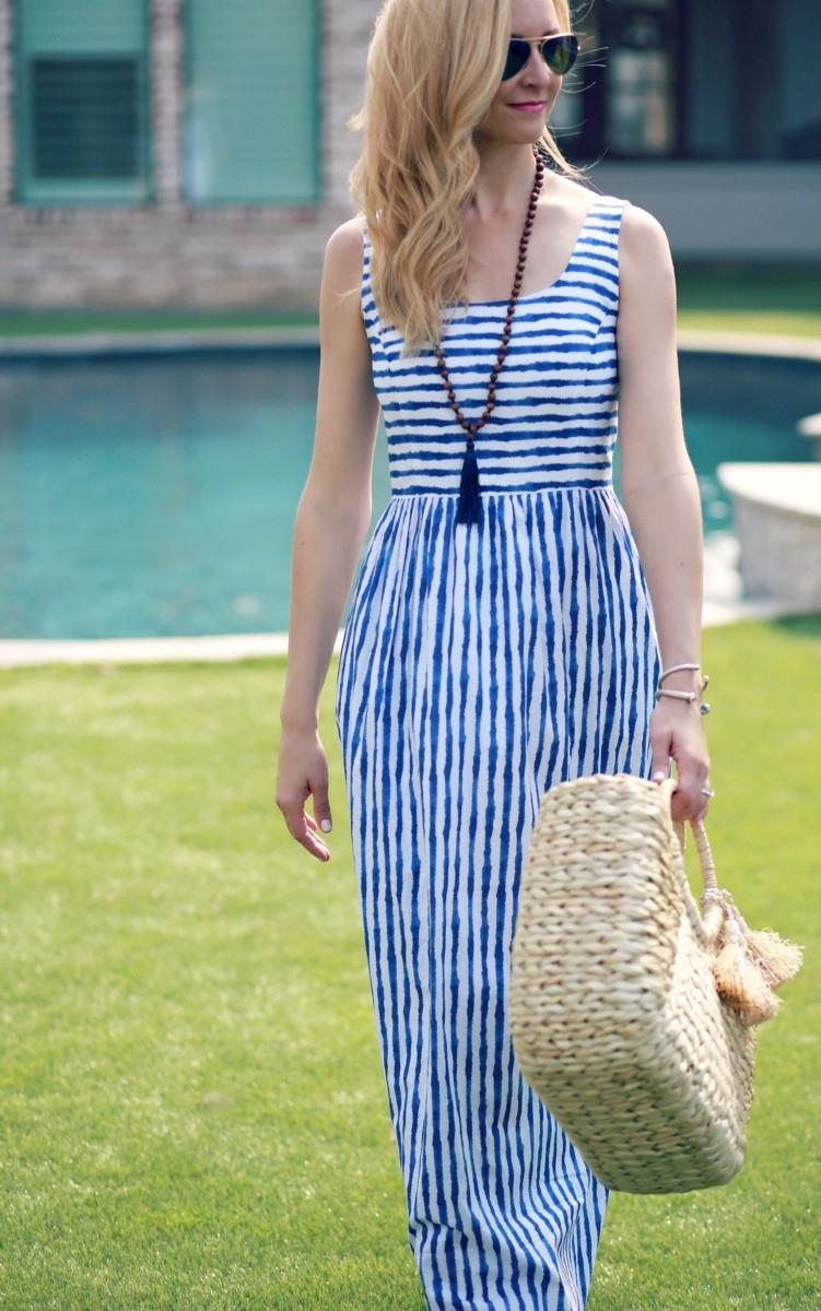 spring maxi dress