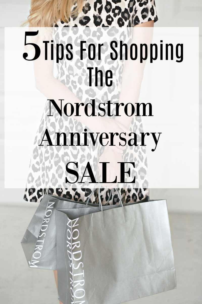 5 Tips For Shopping The Nordstrom Anniversary Sale