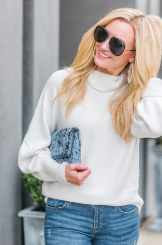 Velvet Clutch And 3 Ways To Incorporate Velvet To Your Wardrobe This Winter