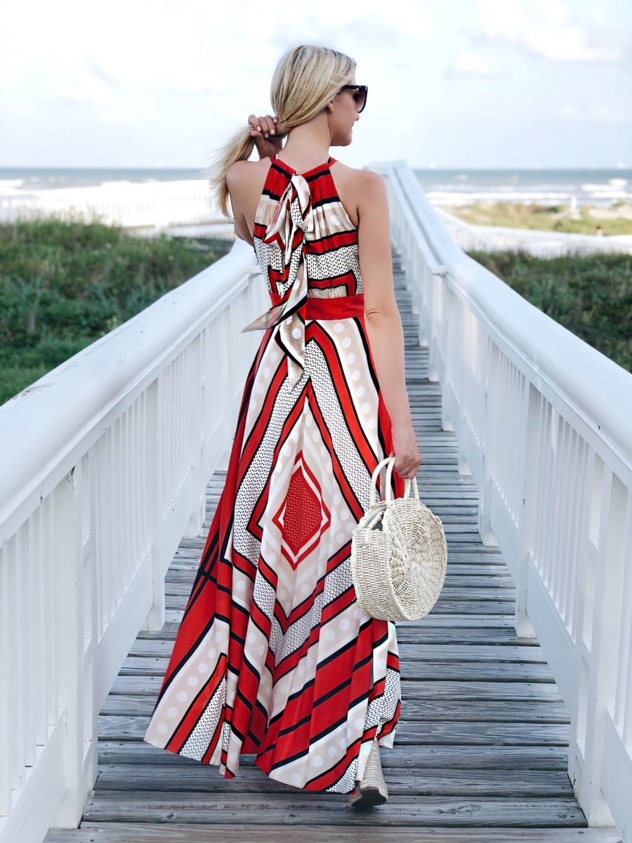 maxi dress - 3 Alternatives To Summer Shorts featured by popular Houston fashion blogger, Haute & Humid