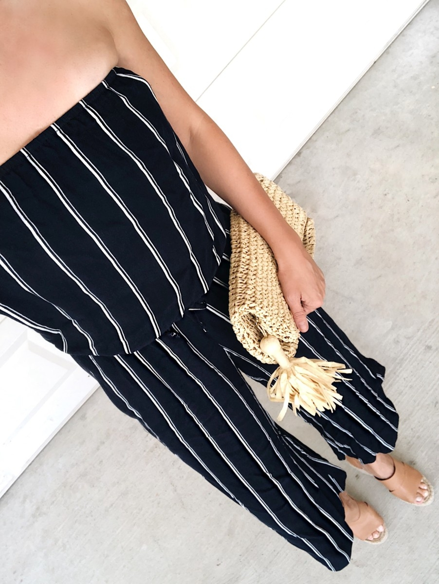 cropped jumpsuit - 3 Alternatives To Summer Shorts featured by popular Houston fashion blogger, Haute & Humid