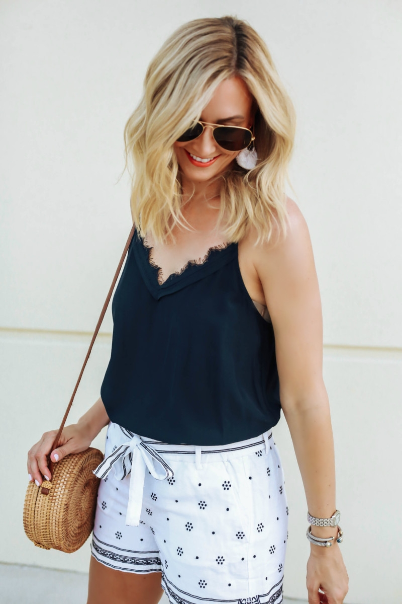 lace cami - 6 Ways to Change Negative Thinking featured by popular Houston life and style blogger Haute & Humid