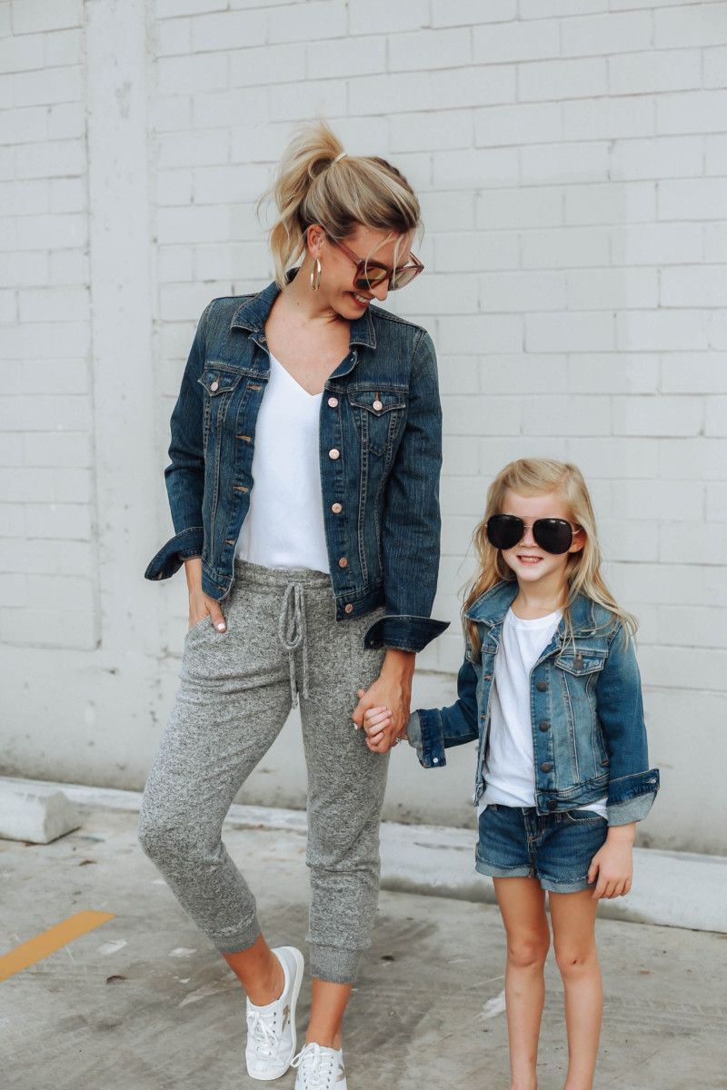 mommy and me looks   Adidas   12 Easy Weeknight Dinners featured by popular Houston life and style blogger Haute & Humid