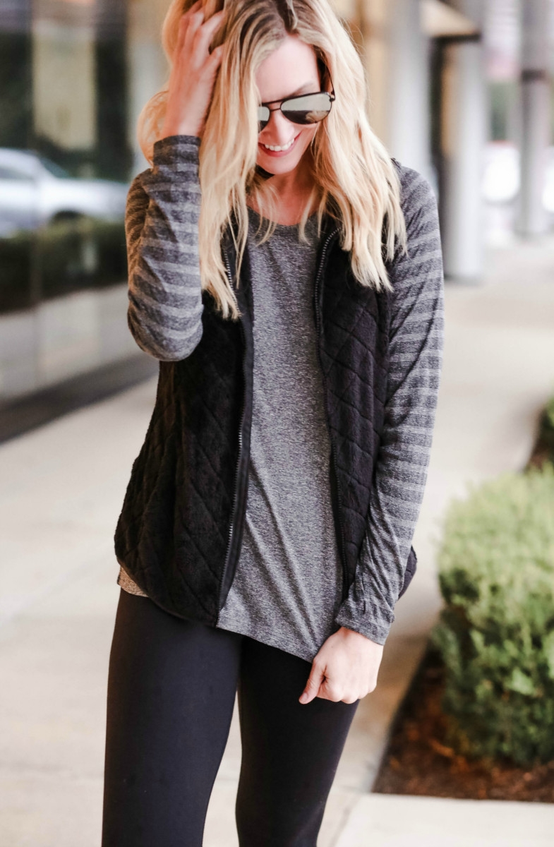 athleisure | Walmart | Affordable Fall Fashion featured by top Houston fashion blog Haute & Humid