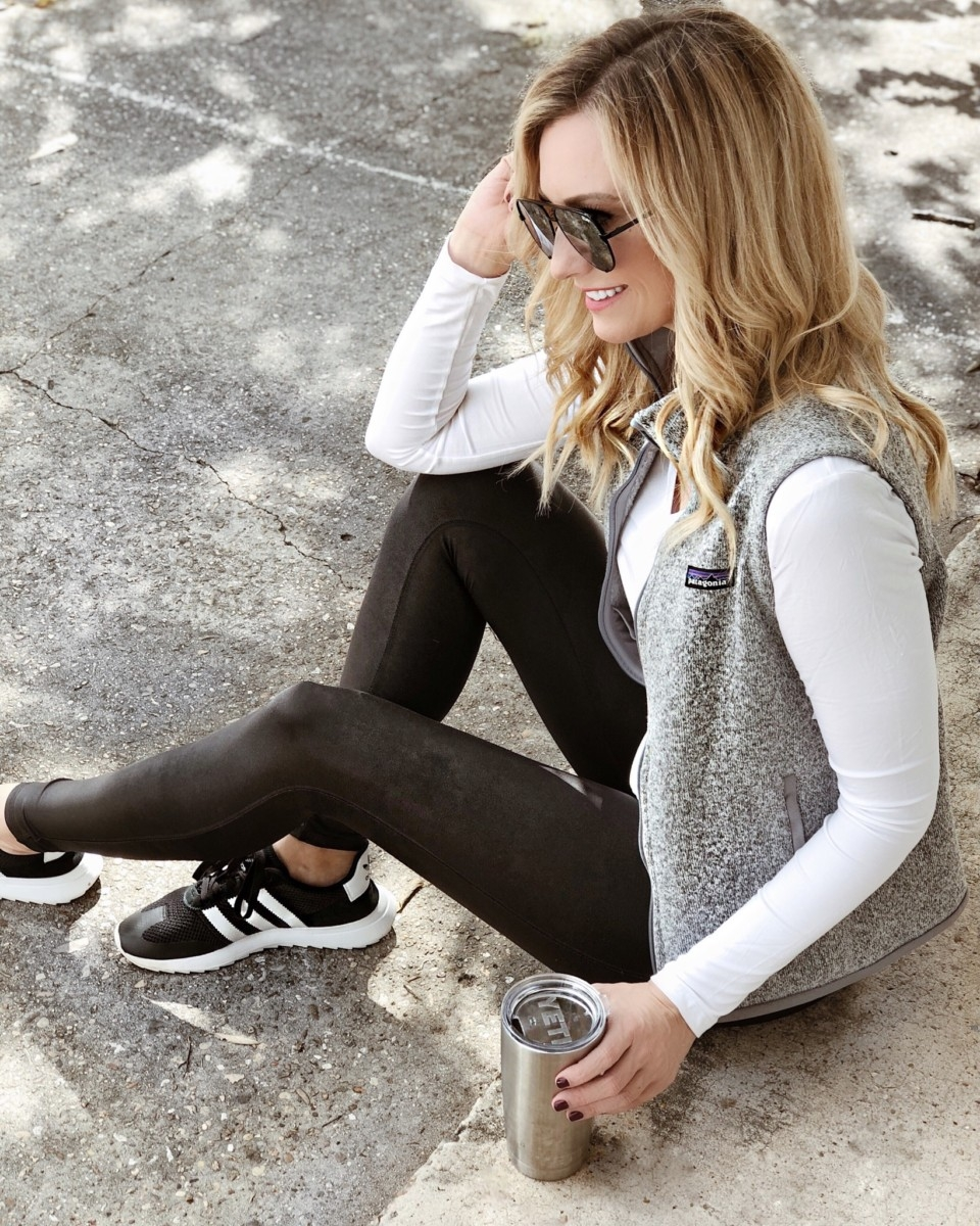 spanx leggings sale   Patagonia   Adidas   Fashion   Fall Fashion Favorites   Nordstrom Black Friday And Cyber Monday Sales featured by top Houston fashion blog Haute & Humid