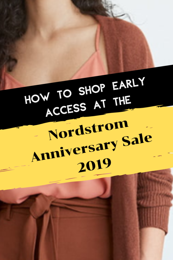 Nordstrom Anniversary Sale 2019: Tips to Shop Early Access featured by top US fashion blog, Haute & Humid