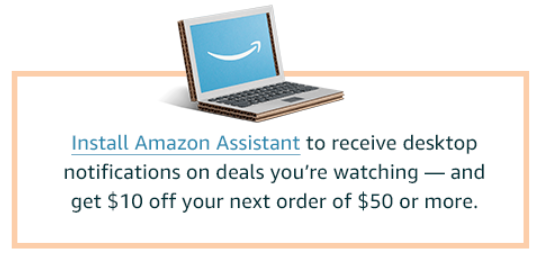 amazon assistant | Amazon Prime Day 2019 by popular Houston life and style blog, Haute and Humid: image of ad for amazon prime amazon assistant deal.