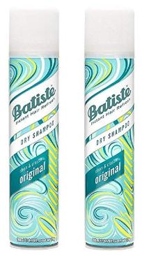 dry shampoo | 15 Best Amazon Beauty Products by popular Houston beauty blog, Haute and Humid: image of Batiste Dry Shampoo.