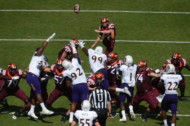 Virginia Tech Field Goal