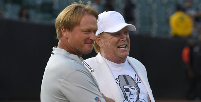 Mark Davis and Jon Gruden
