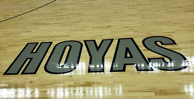 Georgetown Hoyas Floor