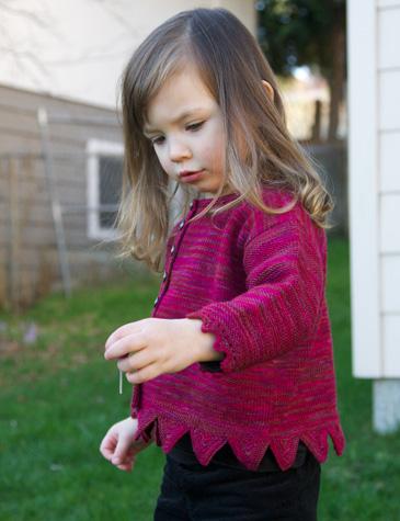 Holli Yeoh | Grenadine knitting pattern