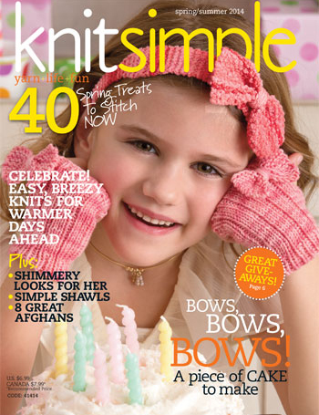 Knit Simple Spring/Summer 2014 cover