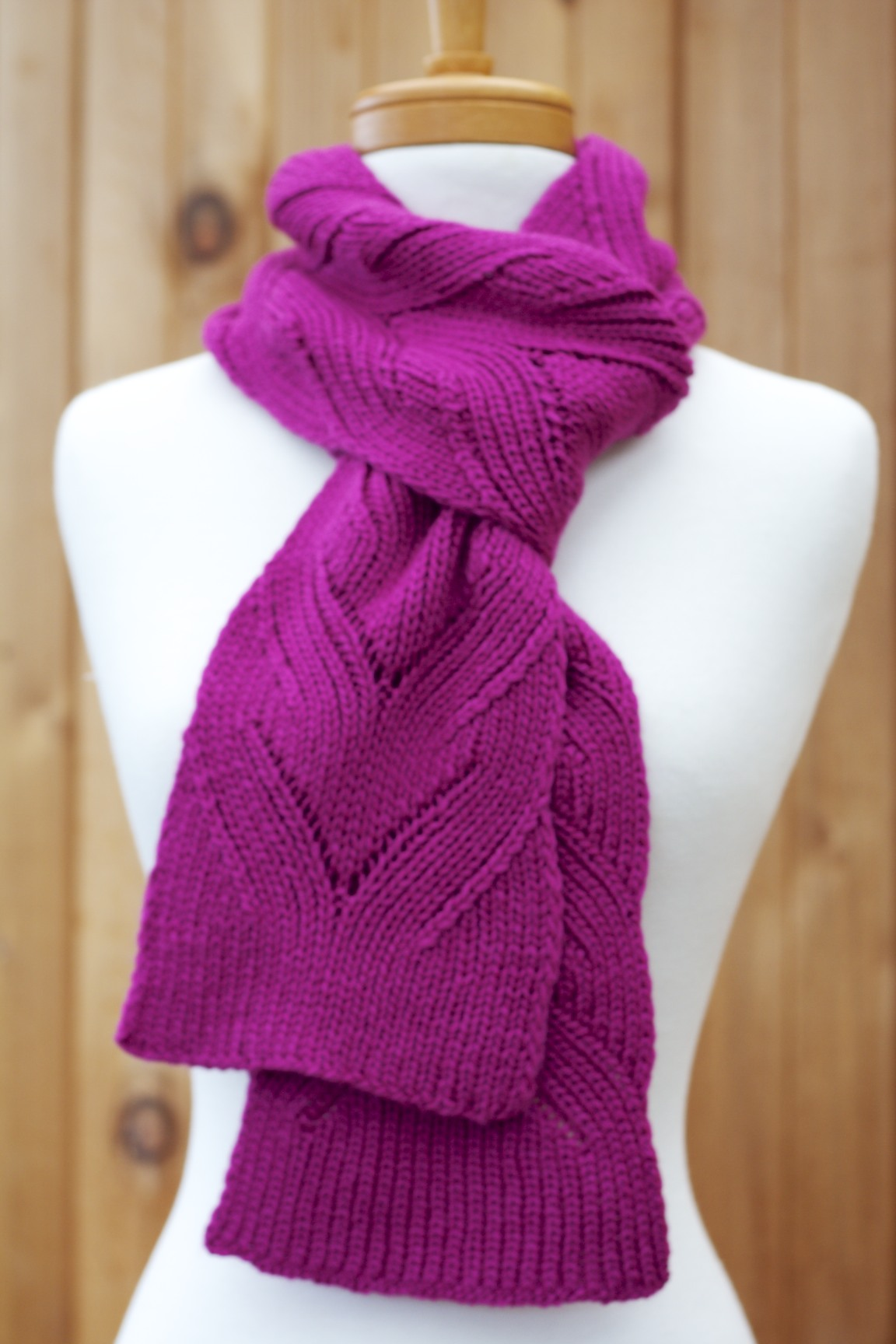Holli Yeoh | Mock Cable Scarf
