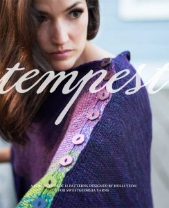 Tempest knitting pattern book by Holli Yeoh