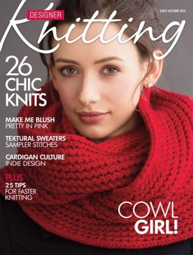 Designer Knitting Early Fall 2015 cover