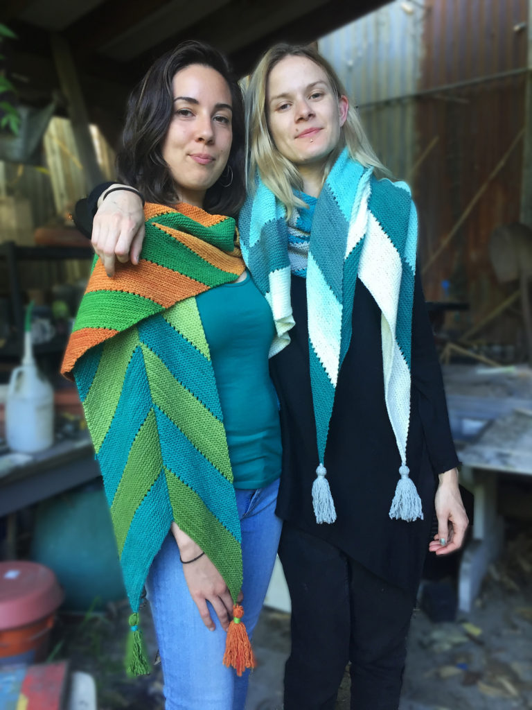 Archer Scarf and Wrap knitting pattern by Holli Yeoh