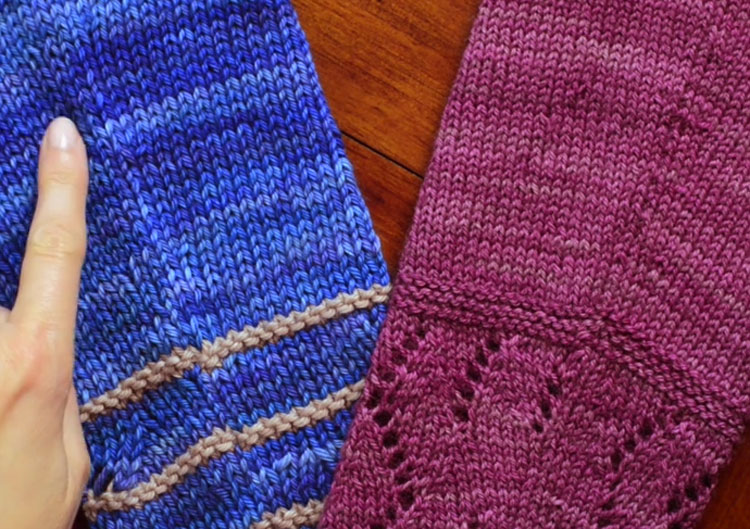 Raised Increases Knitting Tutorial by Holli Yeoh