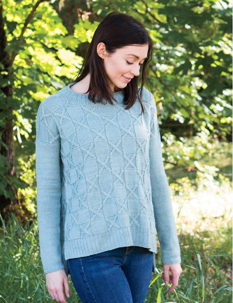 Game Theory pullover knitting pattern by Holli Yeoh