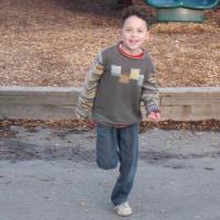 Avery running