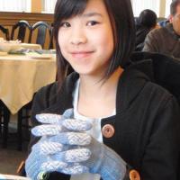 Chloe's gloves