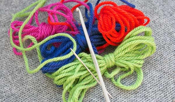 Embellishing with a Crochet Hook