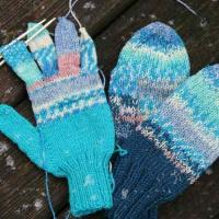 Mitts & glove