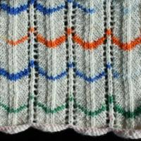 peacock swatch