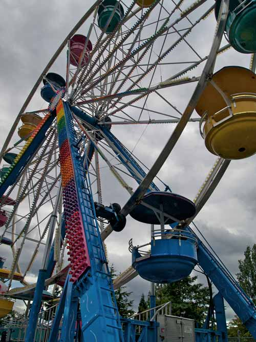 Wordless Wednesday – Playland at the PNE