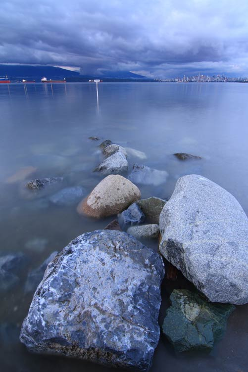 Wordless Wednesday – Rocks on Spanish Banks, Vancouver